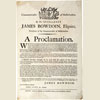 Governor's Proclamation, September 2, 1786