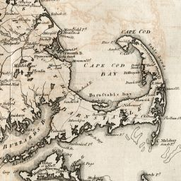shays rebellion map of massachusetts massachusetts in 1795 by samuel lewis