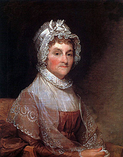 image: Portrait of Abigail Adams