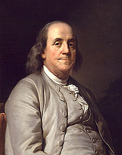 image: Portrait of Benjamin Franklin