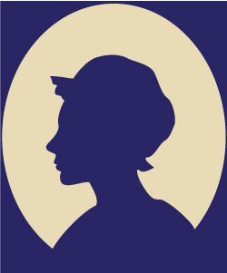 image: Generic silhouette of woman's head