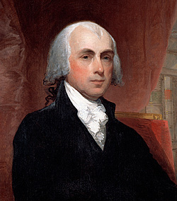 image: Portrait of James Madison