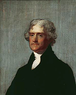 image: Portrait of Thomas Jefferson